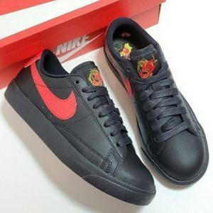 New Nike Blazer Low Floral Sneakers
